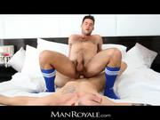 ManRoyale - Massage makes hairy tw-nk cum