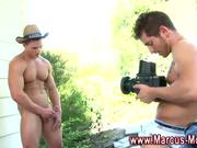Gay hunk Marcus Mojo rimjob action